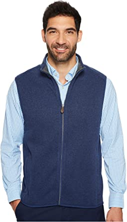 Vineyard Vines - Dressy Sweater Fleece Vest
