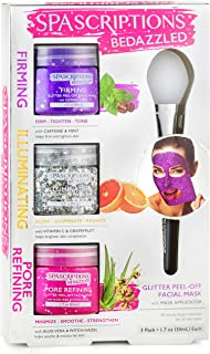 Best BeDazzled- Firming, Illuminating, Pore Refining Glitter Peel-Off Masks Review