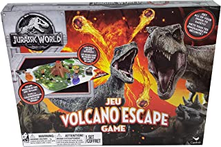 Cardinal Industries 6044456 Jurassic World Volcano Escape Game, Multicolor