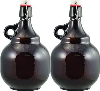Beer - 2L Amber Flip Top Palla Growler