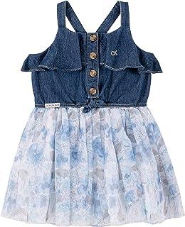 فستان كاجوال للنساء من كالفن كلاين