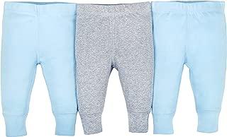 GERBER Baby Boys' 3-Pack Organic Pant
