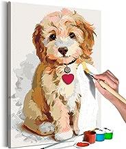 Hungriger Hund Malen nach Zahlen