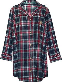 Ralph Lauren Plaid Signature Plus Size Sleepshirt Nightgown