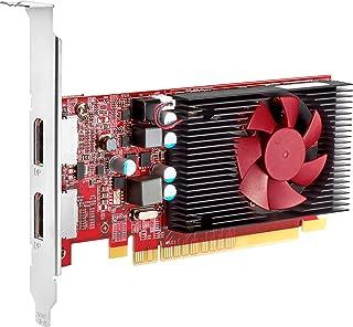 HP グラフィックスカード - Radeon R7 430-2 GB GDDR5 - PCIe 3.0 x16 ロープロファイル - DisplayPort、VGA - EliteDesk 705 G4、800 G4、ProDesk 400 G...