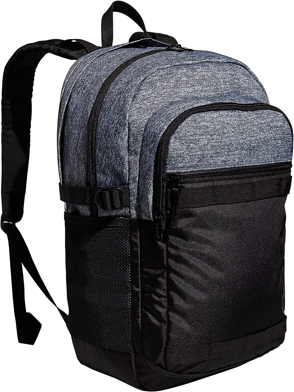 adidas Core Advantage 3 Backpack, Jersey Onix Grey/Black, One Size