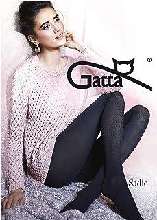 Gatta Sadie 12-40den - blickdicht gemusterte Strumpfhose