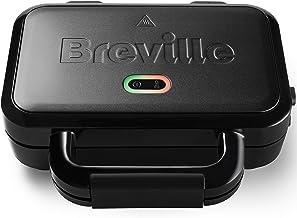 Breville VST082X Ultimate Sandwichmaker, met Extra Diepe Platen, tosti-ijzer voor het toasten van 2 schijven, afneembare, ...