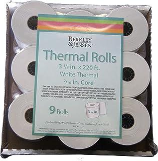 $22 » Product of Berkley Jensen Thermal Paper Rolls, 9 pk. - All Paper & Printable Media [Bulk Savings]