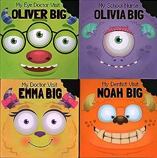 Medical Visits: Noah Big, My Dentist Visit; Olivia Big, My School Nurse; Oliver Big, My Eye Doctor Visit; Emma Big, My Doctor Visit
