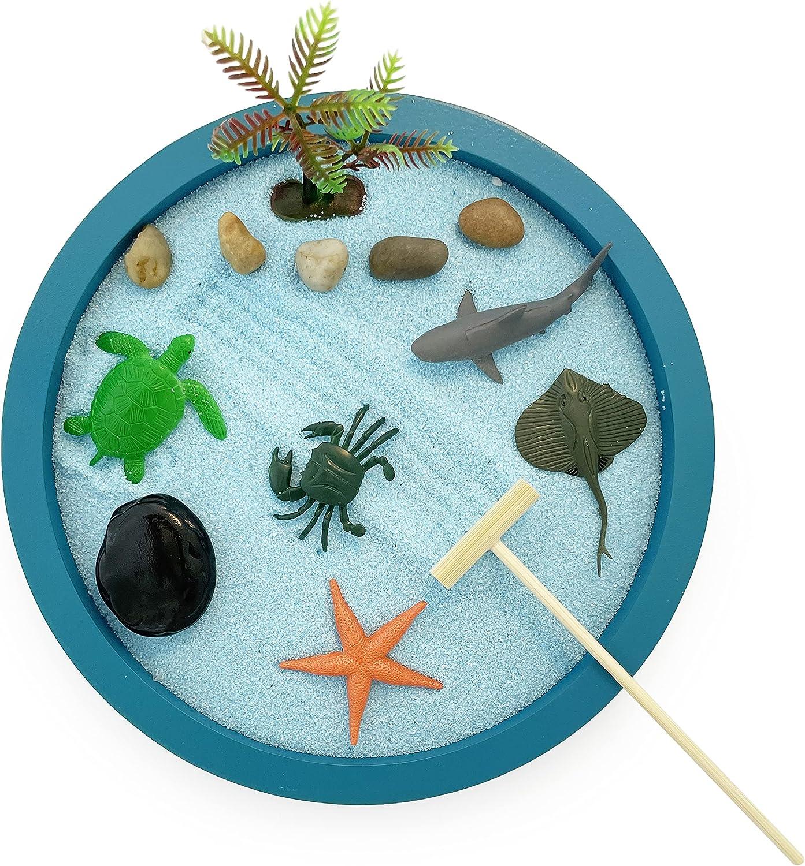 Japanese Zen Free shipping / New Garden Kit for Desktop Tropical Ocean A - Relaxing All items free shipping