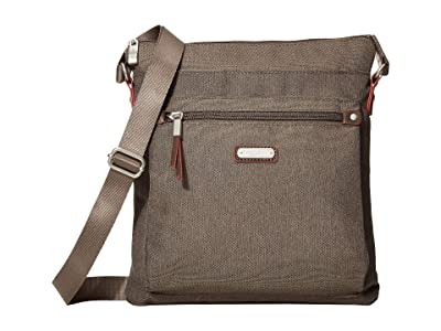 Baggallini New Classic Go Bagg with RFID Phone Wristlet (Dark Umber) Bags