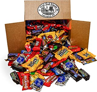 Chocolate Candy Assortment (5.6 lb Bag) Reese's, Milky Way Bars, M&Ms, Snickers, Peanut M&Ms, Twix, Kit Kat, Almond Joy, York, 100 Grand