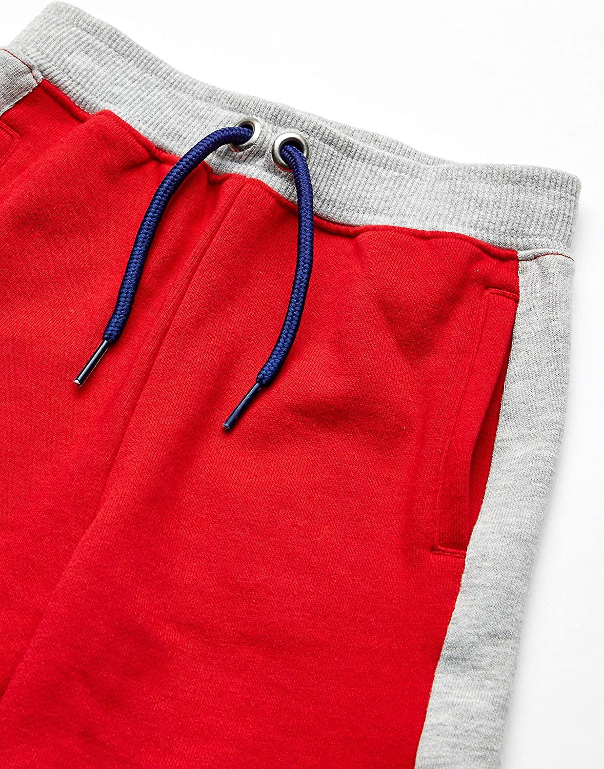Brand Spotted Zebra Boys Colorblock French Terry Shorts
