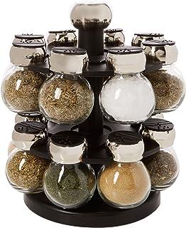 Best Olde Thompson 16-Jar Labeled Orbit Spice Rack Jars & Rack Review
