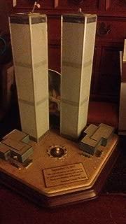 Danbury Mint Twin Towers Commemorative Sculpture