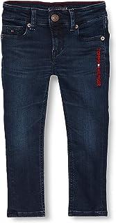 Tommy Hilfiger Scanton Slim Marodbblk Jeans para Niños
