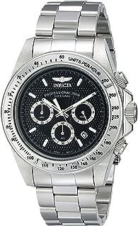 Invicta Men's 18390 Speedway Analog Display Japanese Quartz Silver Watch