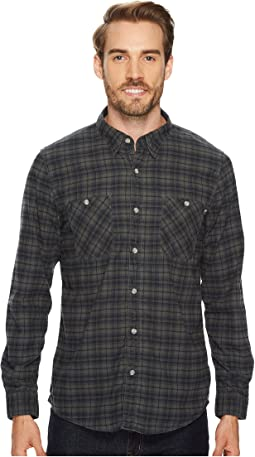 Timberland - Long Sleeve Back River Flannel Small Plaid