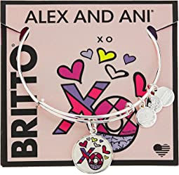 Alex and Ani - XO Art Infusion Charm Bangle - Romero Britto