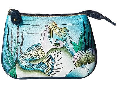 Anuschka Handbags Medium Coin Purse 1107 (Little Mermaid) Coin Purse