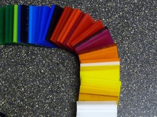 PC incolore large s/élection alt-intech/® Plaque Polycarbonate UV diff/érentes Tailles transparente 500 x 400 mm, 8 mm /épaisseurs 2-20 mm
