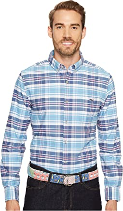 Vineyard Vines - Fort Sumter Plaid Slim Tucker Shirt