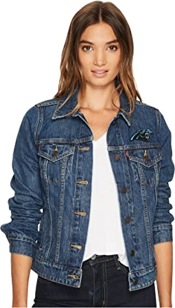 Levi's® Womens - Panthers Sport Denim Trucker