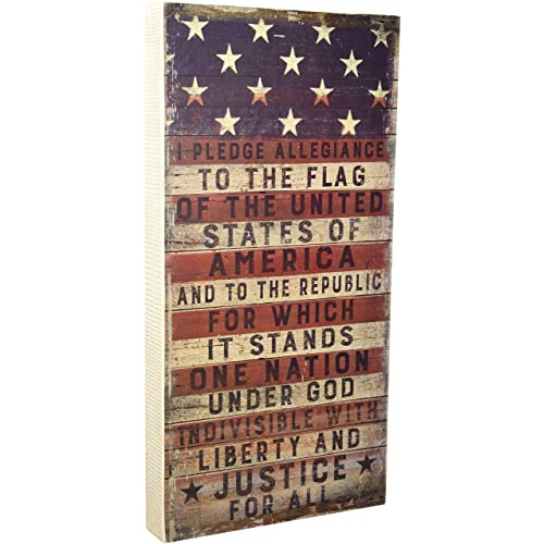 Perfect Primitives By Kathy Box Sign, Pledge Allegiance