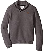 Lucky Brand Kids - Honeycomb with Shawl Collar Sweater (Little Kids/Big Kids)
