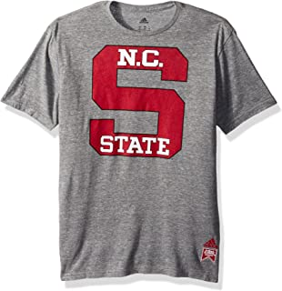 11-13 Team Color Large NCAA North Carolina State Wolfpack Juniors Outerstuff Vintage Short Sleeve Football Tee