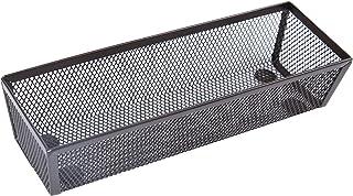 صندوق تخزين أدراج شبكية من Finnhomy وصناديق تخزين الرف وحامل لوازم المدرسة وخزانة سطح المكتب باللون البني مقاس 7.62 سم × 2...