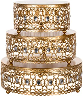 Best 3 tier metal wedding cake stand Reviews