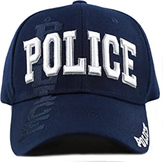 Law Enforcement 3D Embroidered Baseball One Size Cap