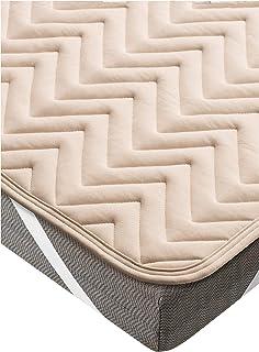 パラマウントベッド 専用ベッドパッド ベージュ 幅120x奥195cm(セミダブルサイズ) アクティブスリープ RE-ZBW73N