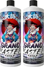 GRAND MASTER SMOKE (64oz bundle) SOAK & WASH BIODEGRADABLE BONG CLEANER / Glass Pipe & Hookah Cleaner - Sanitize + Deodorize, Restores 420 & 710 Heady Glass Back To New - No Shaking/No Scrubbing