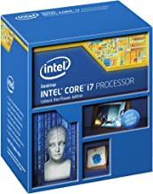 Intel Core i7-5820K Desktop Processor (6-Cores, 3.3GHz, 15MB Cache, Hyper-Threading Technology)