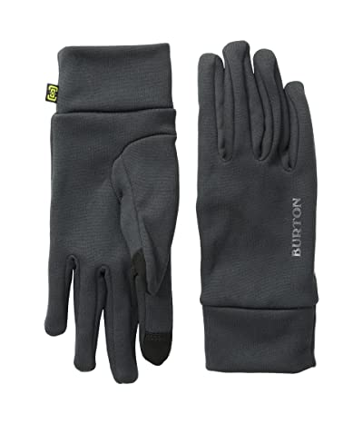 Burton Kids Screen Grab Liner Glove (Youth) (True Black) Extreme Cold Weather Gloves