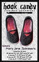Women's Mary Jane Skimmers: Hook Candy Crochet Patterns