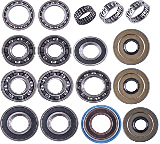 East Lake Axle rear differential bearing & seal kit compatible with Polaris Ranger 400/500 / 800 2010 2011 2012 2013 2014 2015