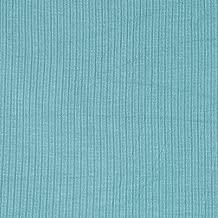 Lavitex 4X2 Rib Knit Aqua Fabric by The Yard,