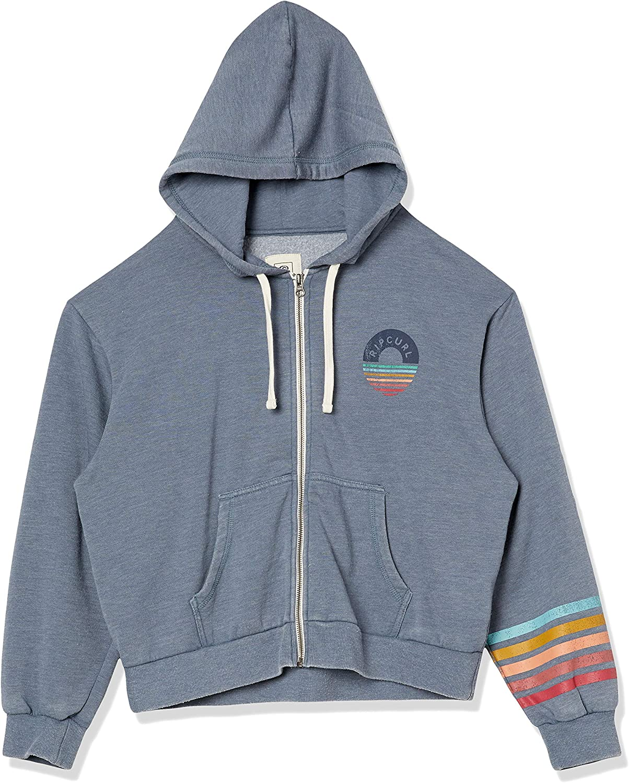 Rip Curl Juniors SURF Safari Zip UP Sweatshirt