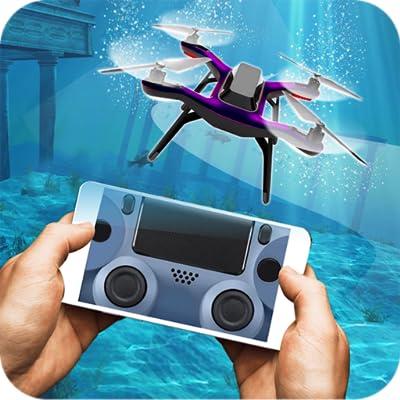 Underwater Quadrocopter