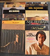 18 different neil diamond lps: beautiful noise, love songs, jonathan livingston seagull, heartlight, you don't bring me flowers, stones, on the way to the sky, rainbow, double gold, i'm glad you're here with me tonight, love at the greek, serenade, moods, jazz singer, september moon, hot august night II, touching me touching you