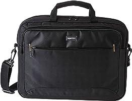 Amazon Basics 15.6-Inch Laptop Computer and Tablet Shoulder Bag Carrying Case, Black, 1-Pack