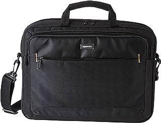 Amazon Basics Sac à bandoulière compact pour ordinateur portable avec poches de rangement pour accessoires (15,6 pouces - ...