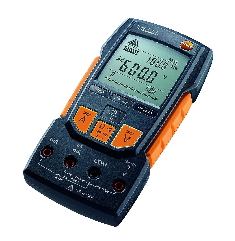Testo - 0590 7602 Don't miss the campaign 760-2 TRMS w Det Auto ! Super beauty product restock quality top! Range Digital Multimeter