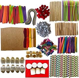 Children's Arts and Craft Bundle #2 – 1000+ pcs, DIY Crafting! Kids Craft Art Supply Kit, Kid's Crafts Set, Pipe Cleaners,...