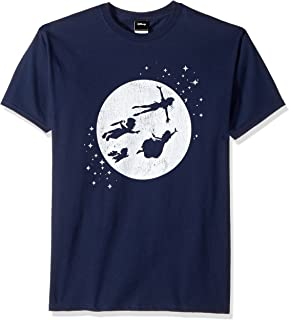 Disney Men's Peter Pan Tinkerbell Second Star to Right Graphic T-Shirt