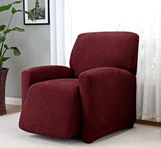 Madison Home Galway Large Recliner Slipcover, Burgundy
